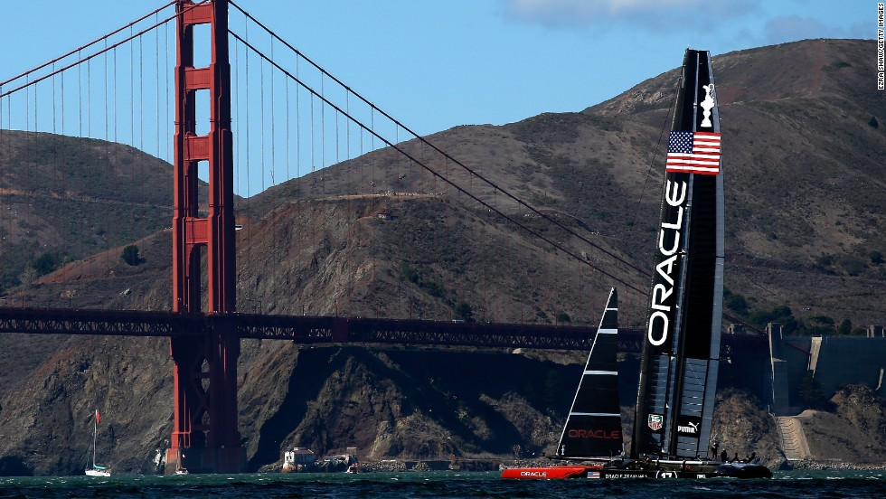 Oracle Team USA took the water knowing victory would cap off a historic comeback victory.