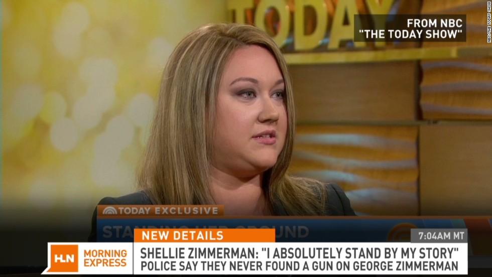 Zimmerman Wife Doubts Zimmerman's Wife i Doubt