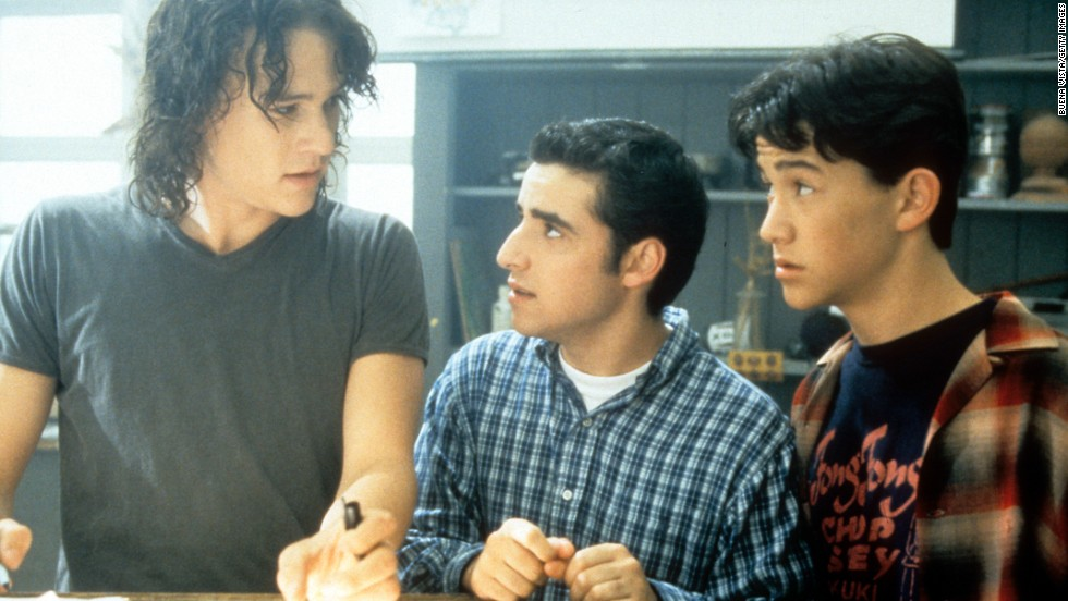 "In the 1999 teen romantic comedy classic ""10 Things I Hate About You,"" Gordon-Levitt joined Heath Ledger and Julia Stiles in a WB-esque re-telling of ""Taming of the Shrew."" He starred as the sweet, swooning new kid, Cameron."