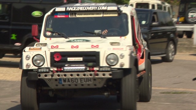Injured soldiers prepare for Dakar Rally