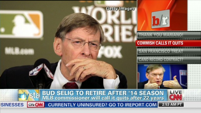 MLB Commissioner to retire after 2014