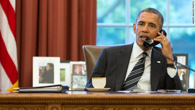 Obama: Just spoke with Iran's president