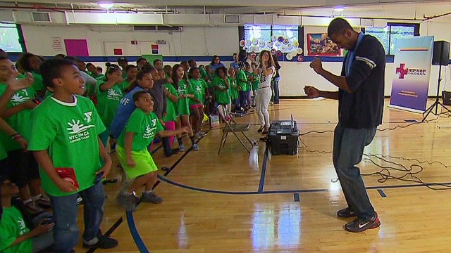 Hip hop program creating healthy kids
