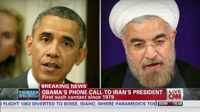 Iranians pleased at phone call from U.S.