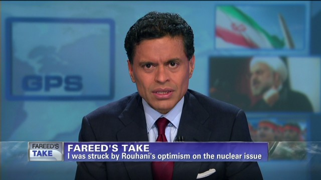 Fareed's Take on Iran's Rouhani