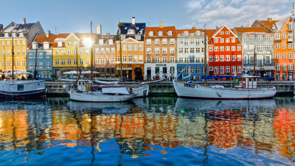 With scenery like this (the canal-side Copenhagen district of Nyhavn), one of the greenest capital cities, a history of inventing things like Lego toys and homeware that looks like art, it's no wonder the Danes are officially the happiest people on Earth.