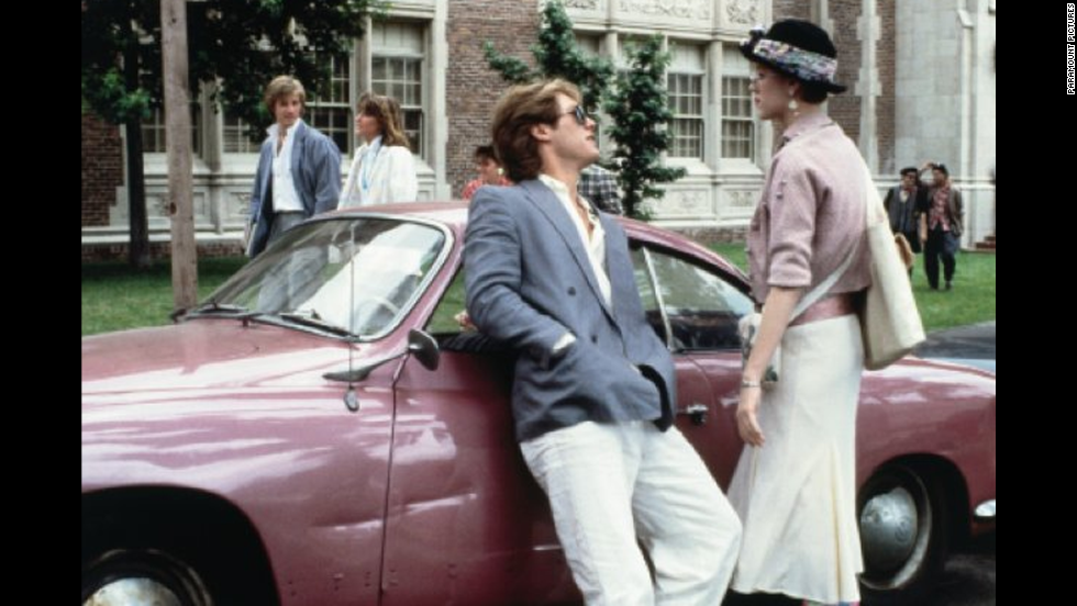 "James Spader played the classic rich slimeball Steff opposite Molly Ringwald in ""Pretty in Pink."""