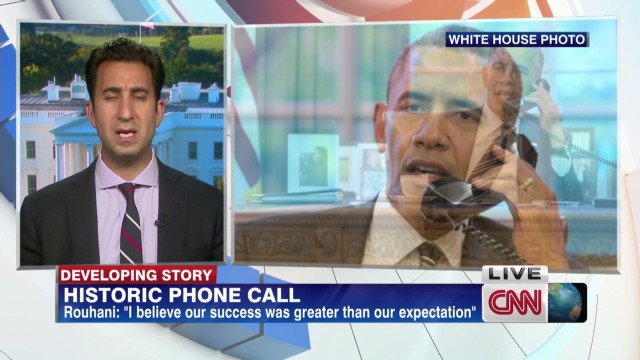 Iran/U.S. historic phone call