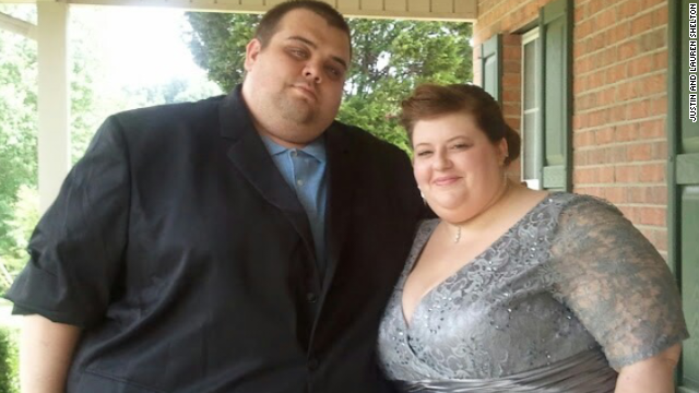 Couple lost a combined 500 pounds