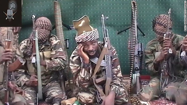 "A video of Abubakar Shekau, who claims to be the leader of the Nigerian Islamist extremist group Boko Haram, is shown in September 2013. Boko Haram is an <a href=""http://www.cnn.com/2014/02/27/world/africa/nigeria-year-of-attacks"">Islamist militant group waging a campaign of violence</a> in northern Nigeria. The group's ambitions range from the stricter enforcement of Sharia law to the total destruction of the Nigerian state and its government. Click through to see recent bloody incidents in this strife-torn West African nation:"