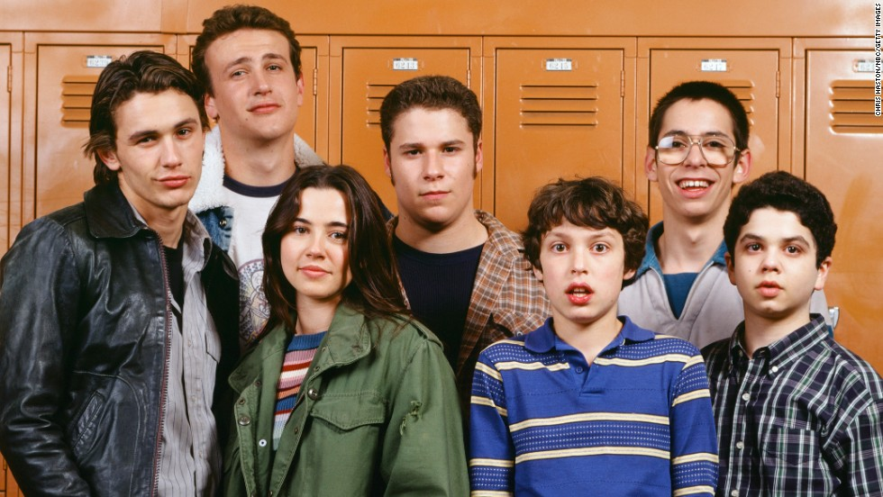 """So easy to binge watch because it's so short,"" as one Redditor said, and, ""like 'Firefly,' you'll feel heartache when it's over."" Judd Apatow's short-lived ""Freaks and Geeks"" captured the awkwardness of high school in one short season from 1999 to 2000. It also shows stars Seth Rogan, James Franco and Jason Segel getting their start in front of the camera."
