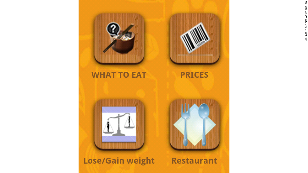 For health conscious mobile users, the Diet Assistant app offers diet plans and weight loss features. <br />