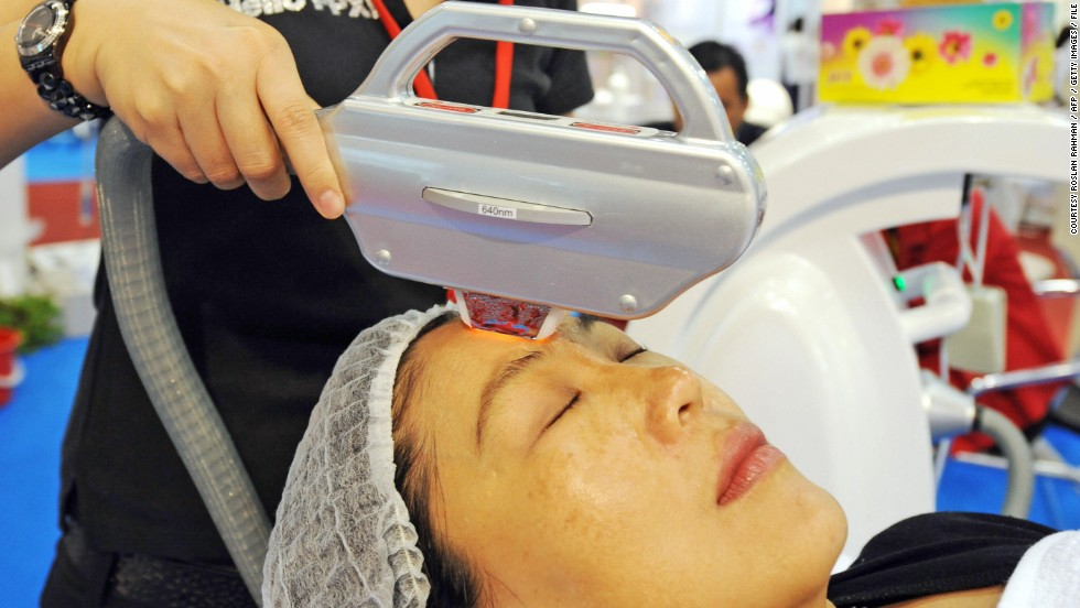 According to a report by Global Industry Analysts the global anti-aging products market will be worth $291.9 billion by 2015. Every year in the U.S. alone, those fearing the inevitable signs of aging invest over $50 billion in skin care solutions. One of the more effective services is skin rejuvenation therapy or photorejuvenation in which a laser is used to induce controlled wounds on the skin, which then heals by creating new, wrinkle-free cells.