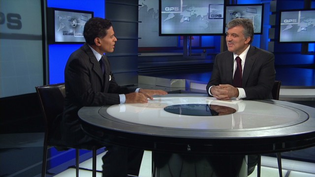 On GPS: Turkey's President Gül