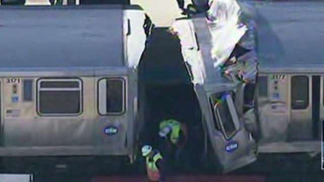 Chicago train crash mystery