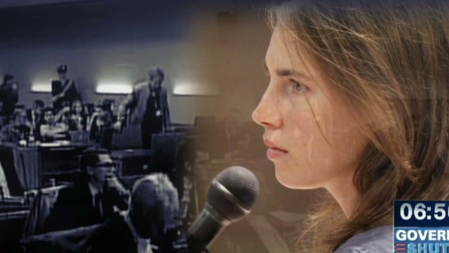 Amanda Knox murder retrial day one