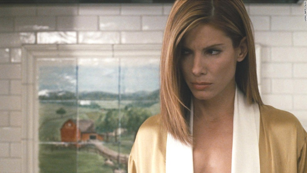 """Bullock suffers as Jean Cabot in the critically acclaimed 2004 drama ''Crash."""""""