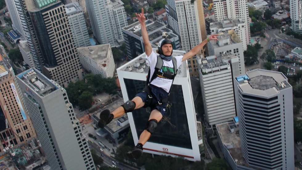 Over 100 base jumpers from 20 countries took part in this year's KL Tower International Jump, held in Malaysia from September 27-30.