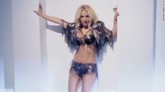 Check out Britney Spears' racy video
