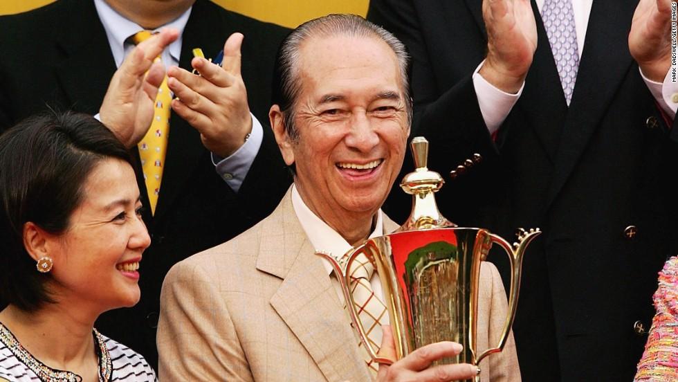 The 91-year-old Macau casino tycoon, Stanley Ho, is a living proof of longevity in Macau.