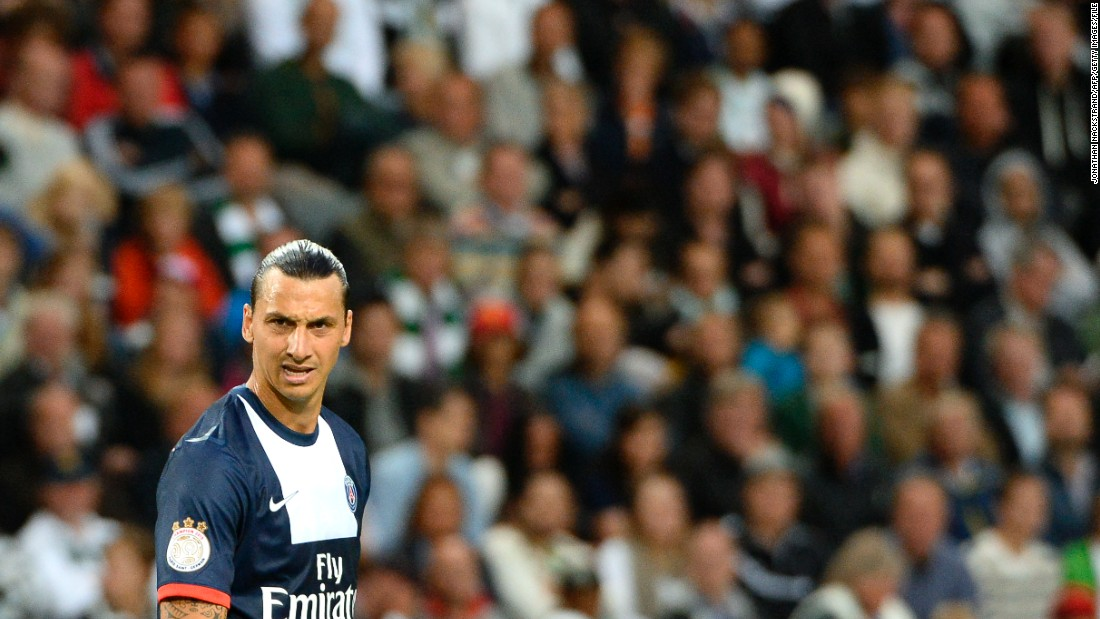 Ibrahimovic joined PSG from AC Milan in 2012. He has spearheaded the club's rise to the upper echelons of European football, which has been funded by Qatar Sports Investments.
