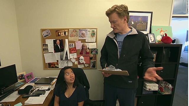 Conan furloughs non-essential staff