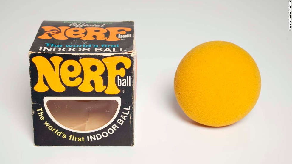 They say it's NERF or nothing -- but that wasn't the case for the 2013 induction into the National Toy Hall of Fame. NERF in many forms -- balls, discs, artillery -- were finalists.