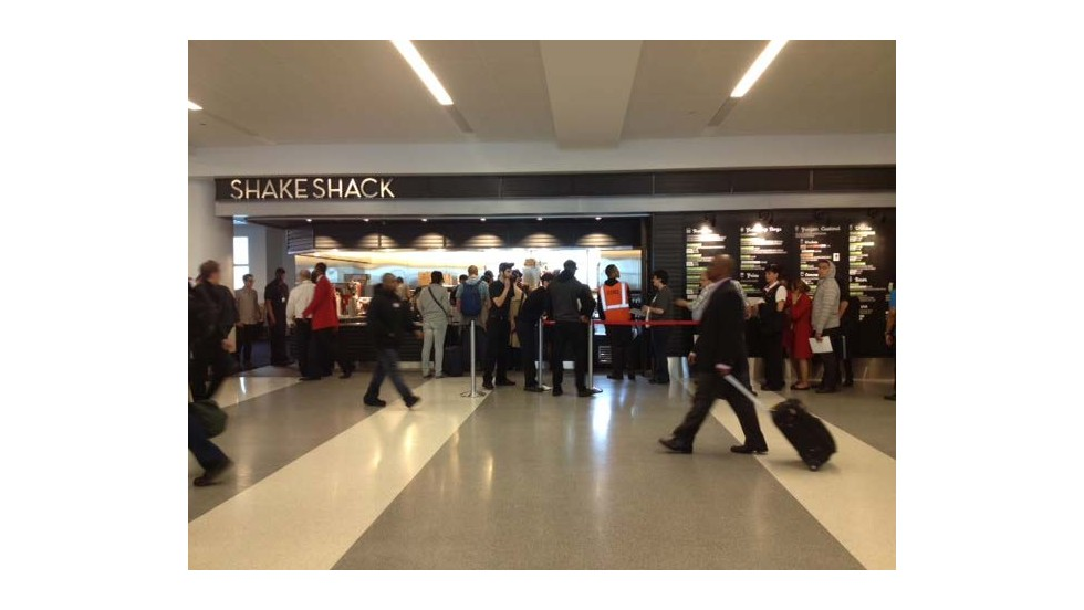 Shake Shack at New York's John F. Kennedy International Airport received the award for best quick service dining.