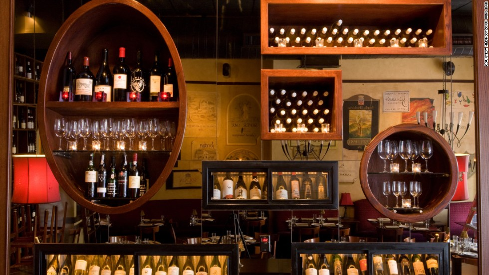 Best wine bar honors were awarded to Cru Wine Bar at Denver International Airport.