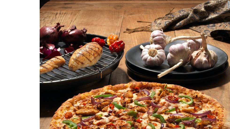 The Hero Chicken Suya pizza was also created specially for Nigerian customers.