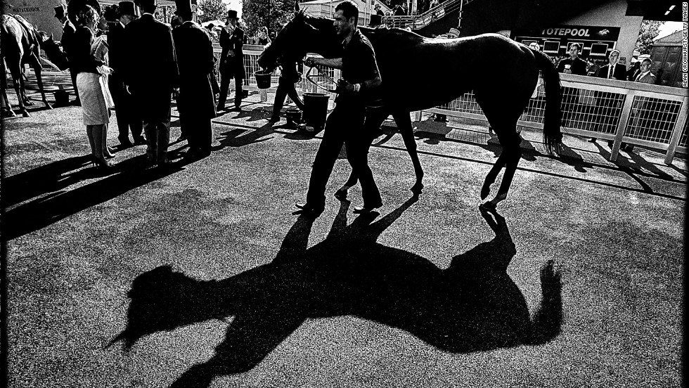 "<strong>Royal Ascot, Ascot, Berkshire, UK:</strong> ""At the start, I'll probably go to the pre-parade ring just to have a look to see if there are any shadows. I'll just watch the horses go round (trying to capture) something you might not notice,"" Crowhurst says."