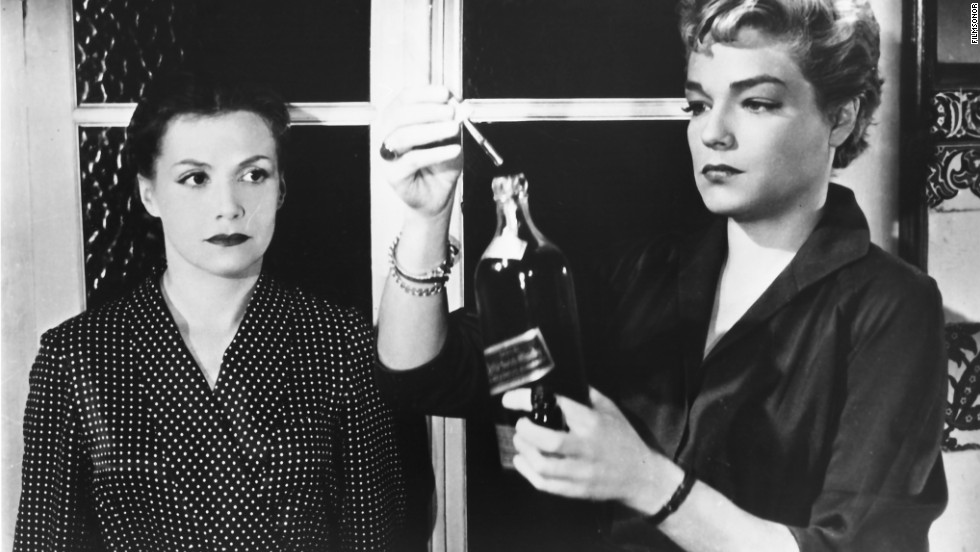 "The 1955 French film<strong> </strong>""Diabolique""<strong> </strong>remains a model for the psychological thriller. A wife and a mistress decide to murder their shared lover, a brutal schoolmaster. But when his body disappears, who's really controlling the plot? Turns out the real target was the wife. But the movie lets the audience wonder if she, too, is really dead."