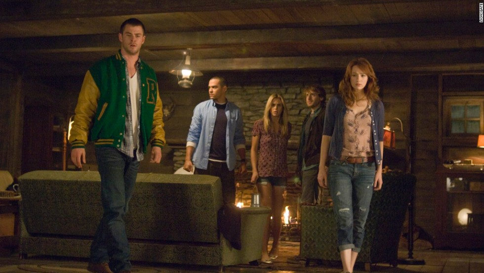 """The Cabin in the Woods"" (2012) is, like ""Scream,"" as much a parody of horror movie cliches as it is a horror movie itself. But the final twist, including an uncredited performer, shows that underneath the parody is an apocalyptic heart."