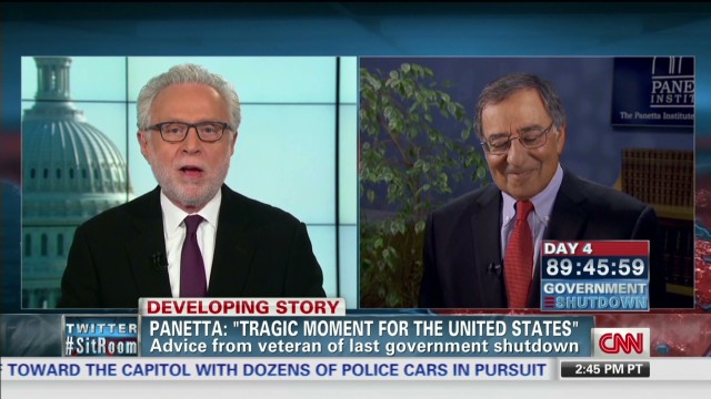 Panetta: Shutdown a 'tragic moment'
