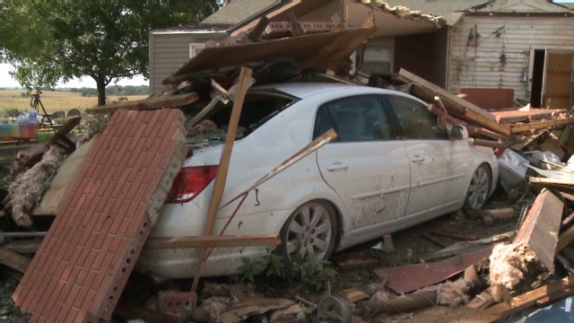 Tornado victim: I heard windows explode