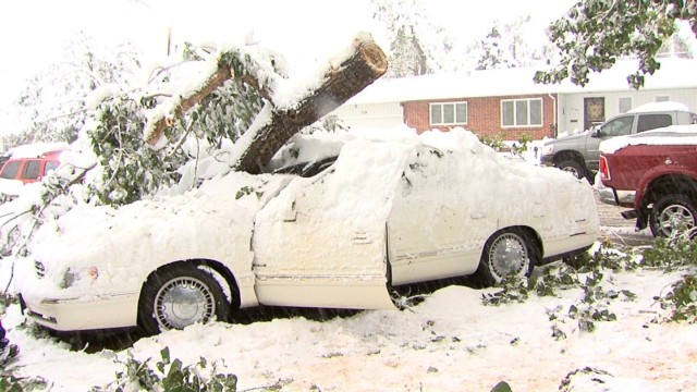 Blizzard wreaks havoc in Wyoming