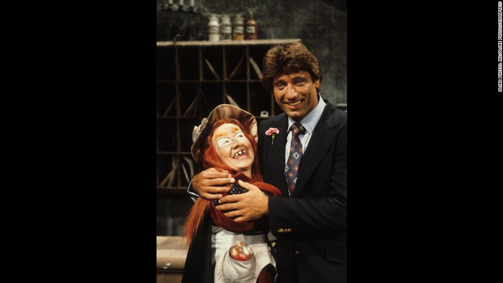 "We didn't dig Wilhelmina Witchiepoo's incessant attempts to steal away Jimmy's talking flute, Freddy, but we did think the ""H.R. Pufnstuf"" (1969-70) character had a wicked ride with the Vroom Broom. Witchiepoo is shown with NFL great Joe Namath."