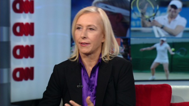 Martina Navratilova speaks out