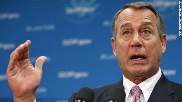 Boehner: Country is on 'dangerous path'