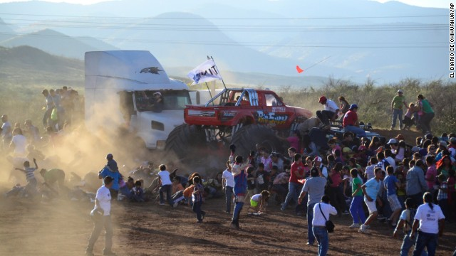 Monster truck crash kills 8 spectators
