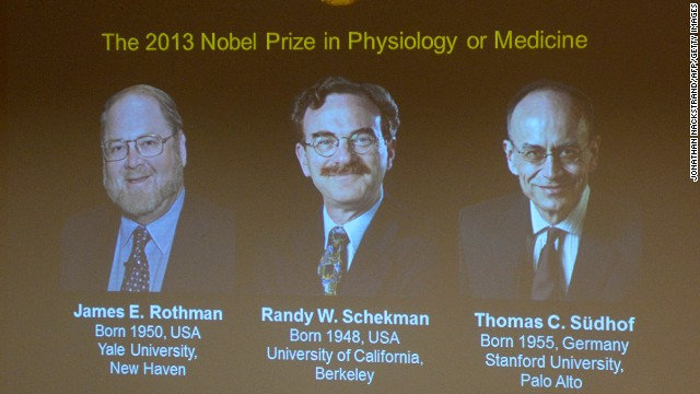 Winners of the 2013 Medicine Nobel Prize