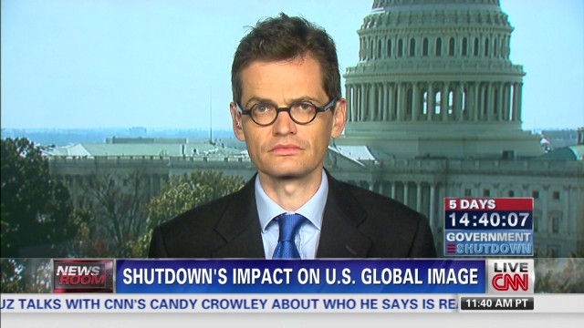 Shutdown's impact on U.S. global image