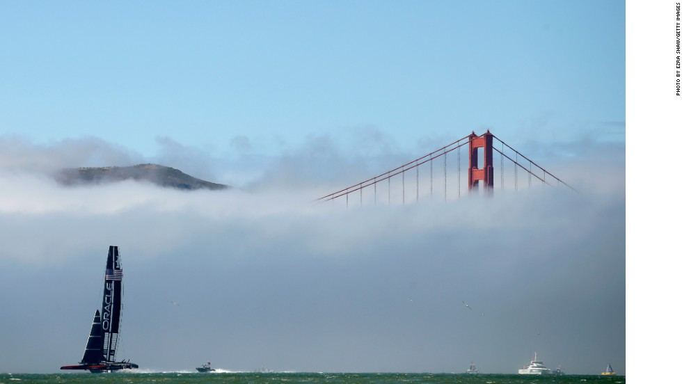"""He added: """"San Francisco also has lots of different micro climates -- the fog might roll in one day and they'd be blue sky the next."""""""