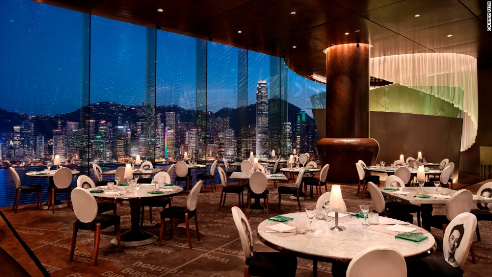 "<strong>4.</strong> <a href=""http://www.peninsula.com/Hong_Kong/en/Dining/Felix/default.aspx"" target=""_blank"">Felix at the Peninsula Hotel</a> (Hong Kong)"