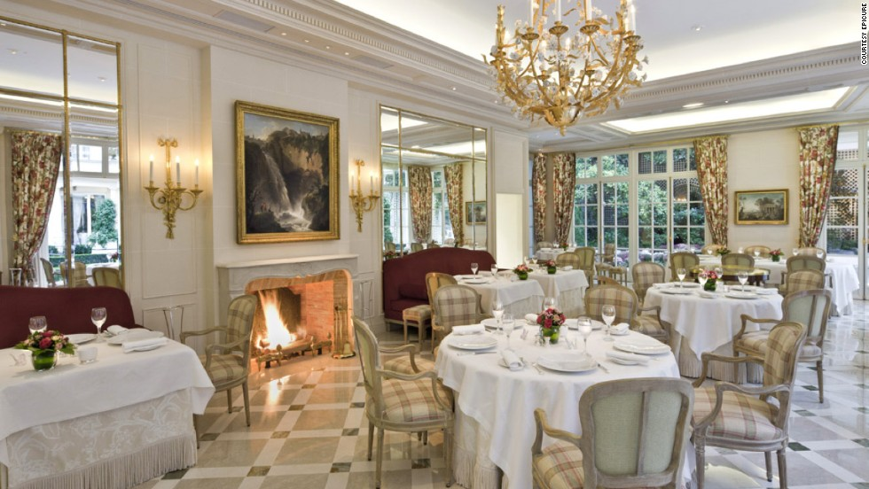 "<strong>9.</strong> <a href=""http://www.lebristolparis.com/eng/restaurants-and-bars/epicure/"" target=""_blank"">Epicure at Le Bristol</a> (Paris)"