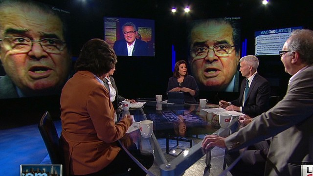 Scalia unplugged