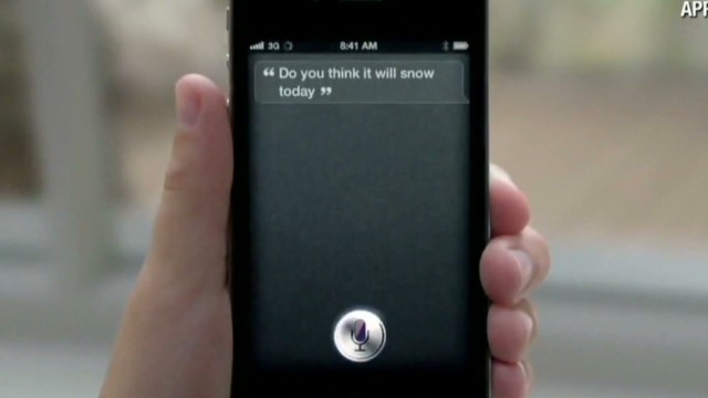 Tracking down the voice of Siri