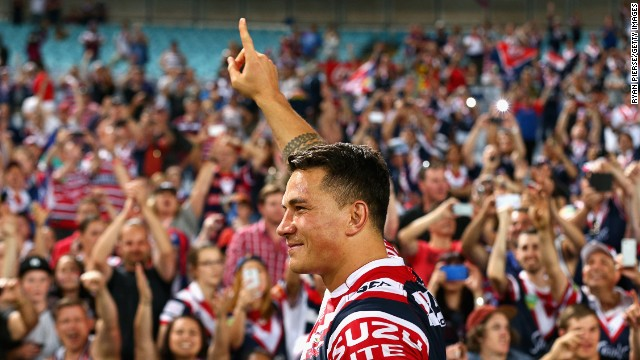 New Zealander Sonny Bill Williams is a star in rugby union and rugby league, and perhaps the most talked about athlete in Australia and his homeland.