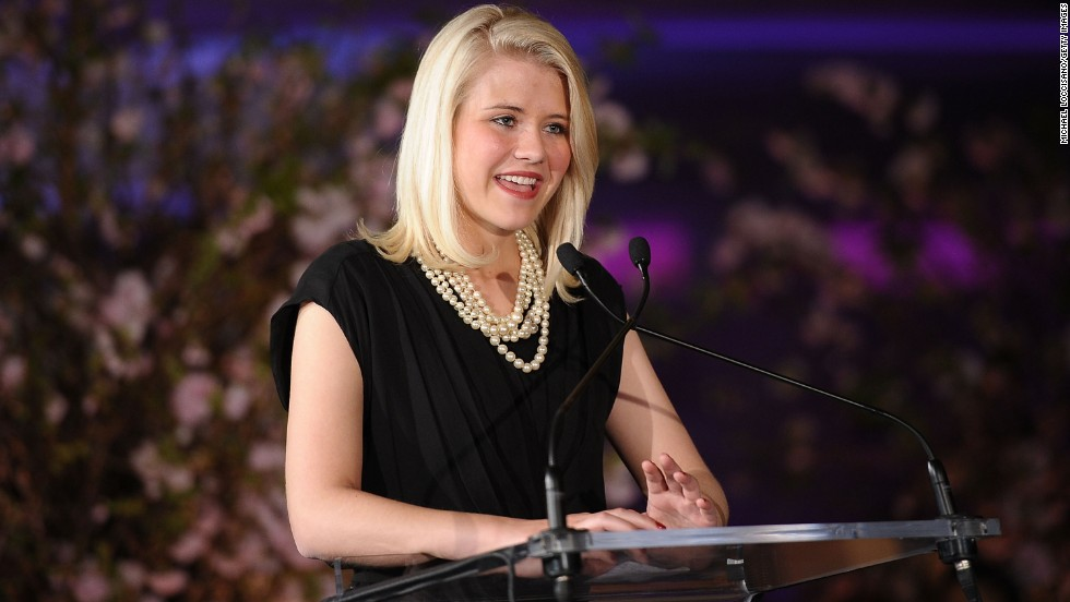 "Elizabeth Smart speaks at the 2nd annual Diller-von Furstenberg Awards at the United Nations in New York in March 2011. Smart released her book ""My Story,"" which tells of what happened during her kidnapping, on October 7."