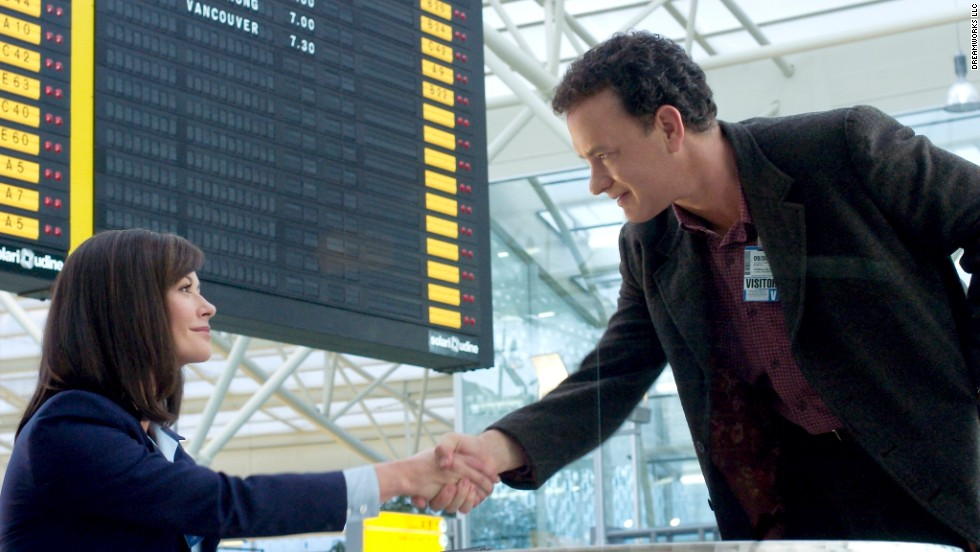 "Another film based on a true story,<strong> ""The Terminal""</strong> (2004) is about a man who ends up living in an airport when he's denied entry into the United States but can't return to his home nation. Tom Hanks stars; Steven Spielberg directs.<em> Lesson: </em>Check the stability of governments before you travel."